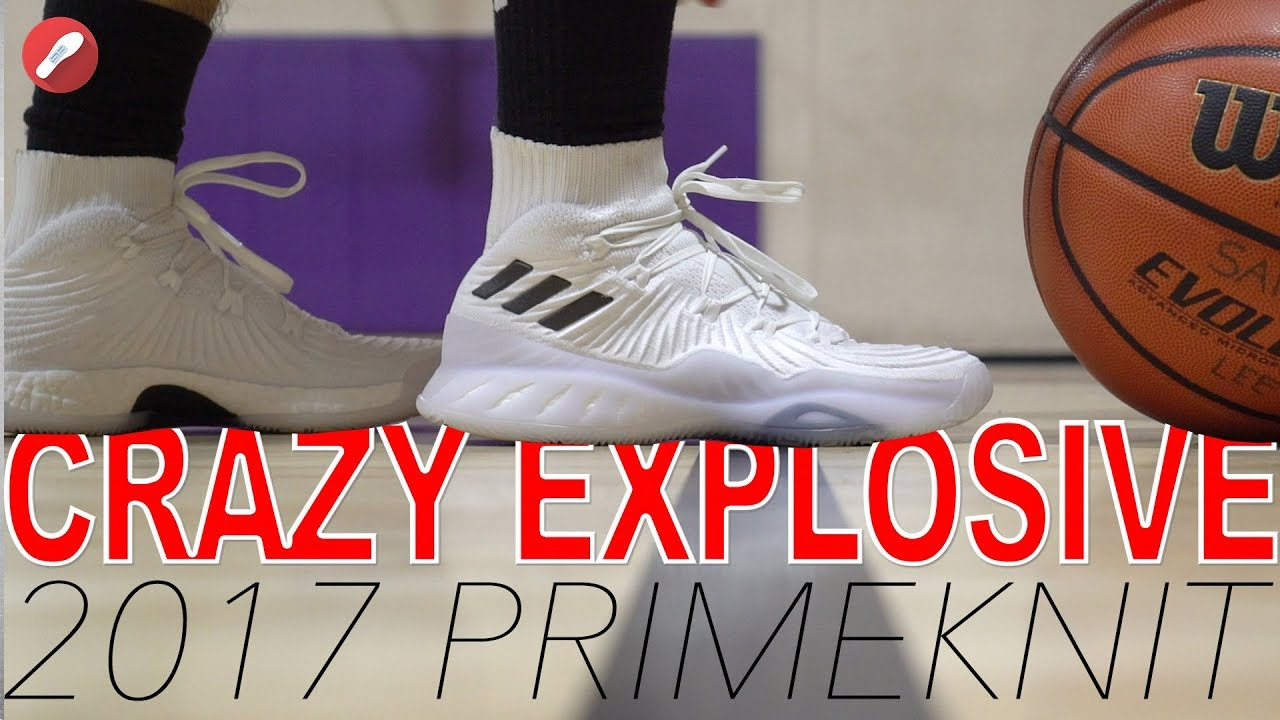 68e990b4119 Adidas Crazy Explosive 2017 Primeknit Performance Review! - YouTube