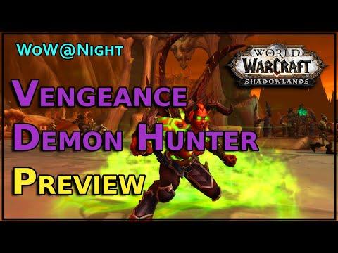 Shadowlands Vengeance Demon Hunter Preview