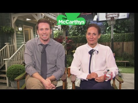 Actors Laurie Metcalf & Tyler Ritter from The McCarthys P Tonight's Premiere