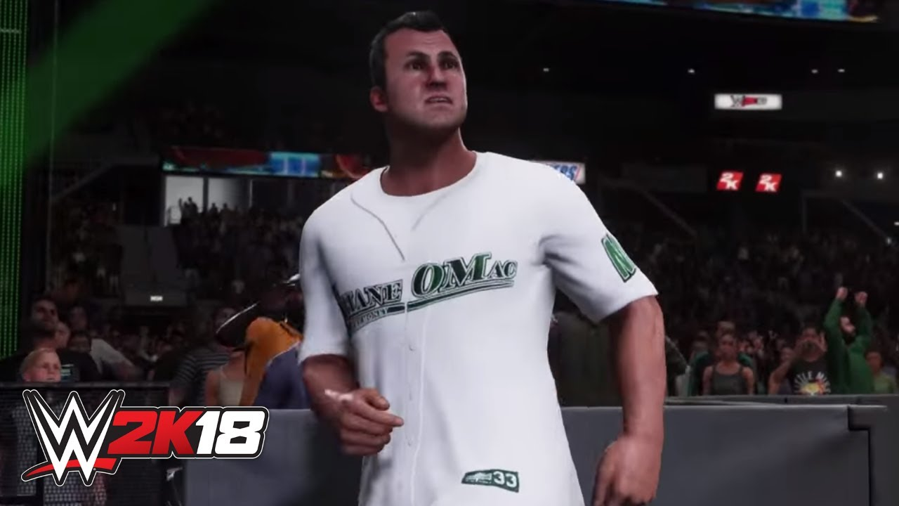 WWE 2K18 Shane McMahon entrance video - YouTube  WWE 2K18 Shane ...