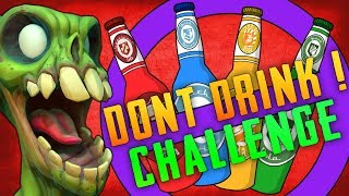 Don't Drink Zombie Challenge (Call of Duty Zombies)