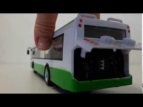 Урчание моторчика игрушки автобуса