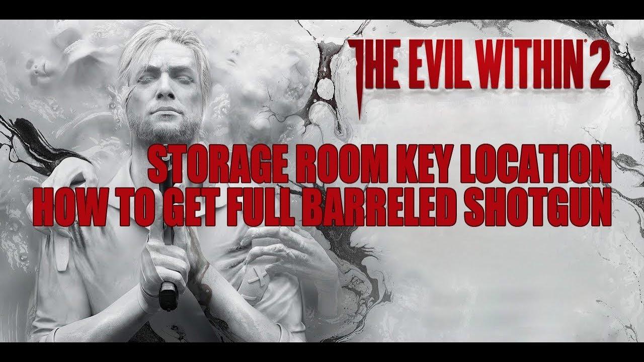 Storage Room Key Evil Within