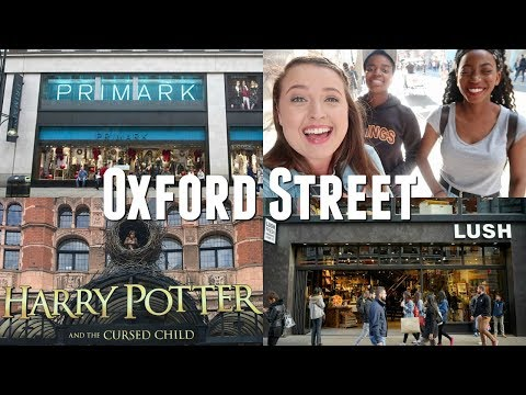 SHOPPING ON OXFORD STREET IN LONDON! // PRIMARK, LUSH, CHIPOTLE, TK MAXX..