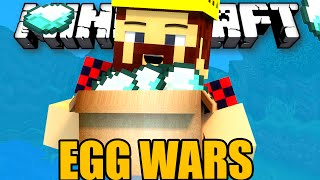 УКРАЛ ВСЕ АЛМАЗЫ - Minecraft Egg Wars (Mini-Game)
