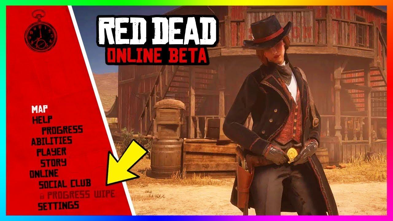 Red Dead Online - HUGE DETAILS! Progress Wipe, NEW Updates, Changes Coming Soon & MORE! (RDR2)