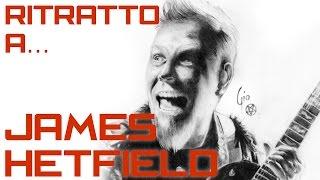 Ritratto a James Hetfield