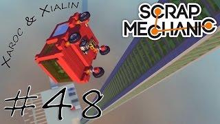 "Daily Scrap Mechanic #48 ""Fan Creations Testcenter: Falltest"" ★ Let's play HD deutsch"
