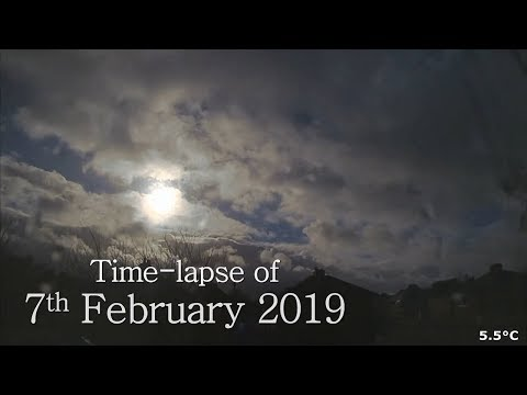 7 February 2019 Time-lapse