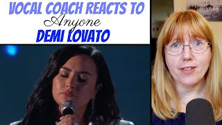 Vocal Coach Reacts to Demi Lovato 'Anyone' Grammy Awards 2020