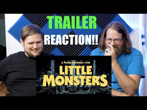 Little Monsters Red Band Trailer Reaction!