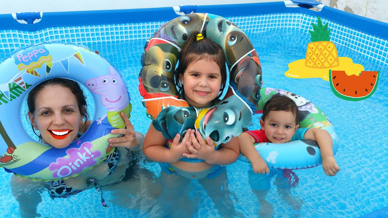La patrulla canina y peppa pig juegos en la piscina youtube for Peppa pig en piscina