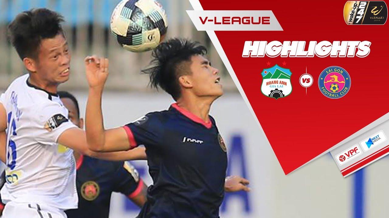 Video: Hoàng Anh Gia Lai vs Sài Gòn