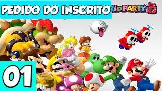 Pedido do Inscrito #01 - Mario Party 8 com Birdo, Luigi e +