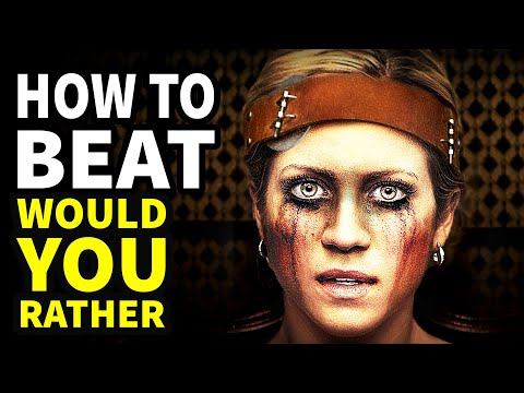 """How To Beat Every DEATH GAME In """"Would You Rather"""""""