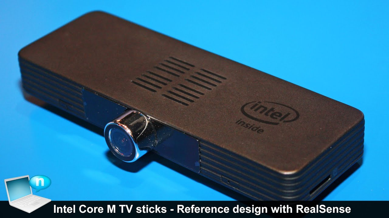 IDF16 Intel Core M TV stick Reference design with