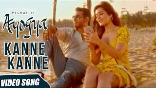 Kanne Kanne Full Song Review   Ayogya   Anirudh Ravichander   Vishal, Raashi Khanna