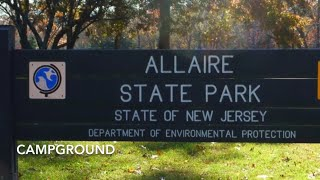 Pet Friendly - ĄLLAIRE State Park camp ground - New Jersey - boondocking