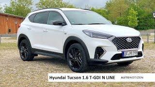 Hyundai Tucson N Line 1.6 T-GDI 2019 Test, Fahrbericht, Review