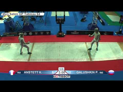 Moscow 2015 MS GP T64 31 red Galushkin P RUS vs Anstett V FRA