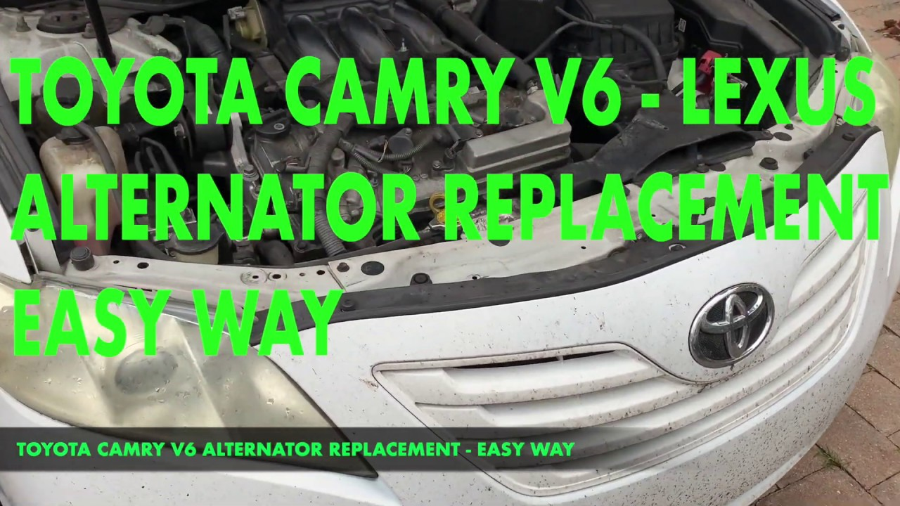 Toyota Camry Rear Spark Plugs Replacement 2007 2011 Youtube