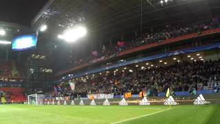 CSKA - Bayer fans / ЦСКА - Байер (22.11.16) Обзор трибуны, ЦСКА