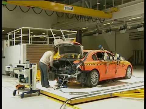BMW 7 Series Crash Test F01 F02