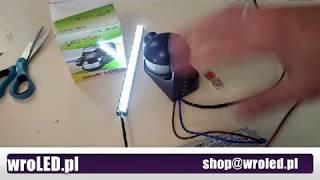 Jak podłączyć czujnik ruchu do tasmy LED