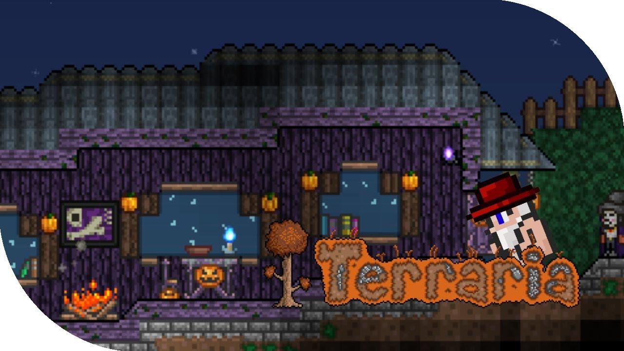 Terraria 1.2.1 - ALL HALLOWEEN COSTUMES (CREEPER, GOODIE BAGS ...