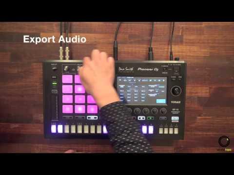 Pioneer DJ TORAIZ SP-16 Ver 1.2 #9   Export Audio