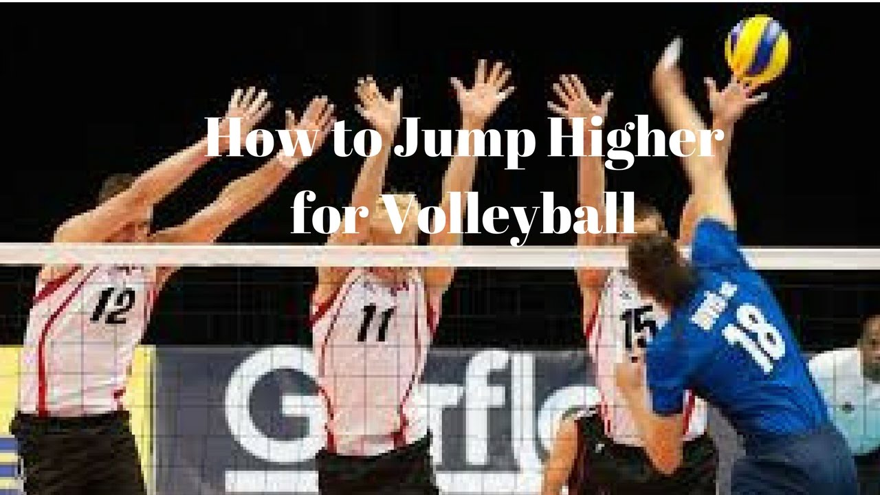 How to Jump Higher for Volleyball