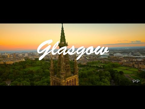 Scotland - Glasgow from Above [Drone]