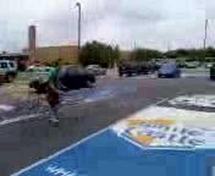 Jump over car 2