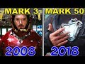 Download ALL IRON MAN SUIT TRANSFORMATIONS