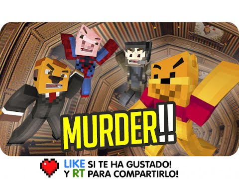ASESINO PERSUASIVO! | Sara, Exo, Gona Y Luh En MURDER IN MINECRAFT