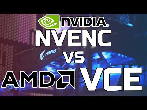 NVENC Vs VCE - AMD Vs NVIDIA - Streaming  - TechteamGB