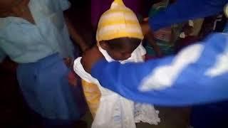 Agni Rural Welfare Society Cadets are distributing cloths 18