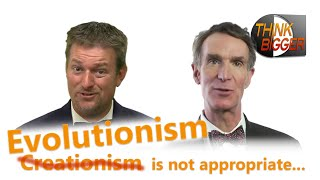 CMI: Evolutionism is not appropriate for anyone - a response to Bill Nye by CMIcreationstation