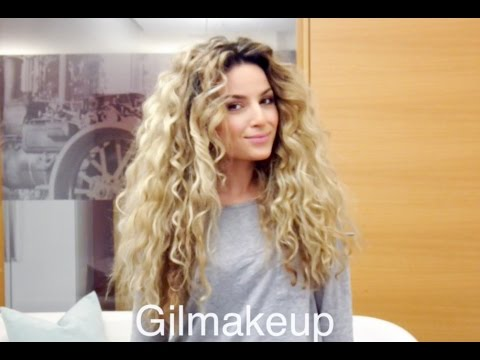 7 easy hairstyles for curly hair youtube urmus Image collections