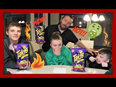 FARTS WHILE TASTING HOT CHIPS!!!!