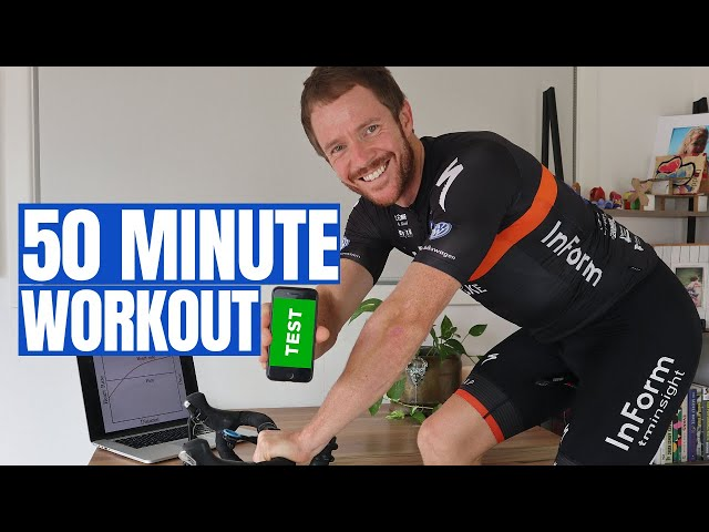 How to Test Your Cycling Base Fitness (50 Minute Indoor Workout)