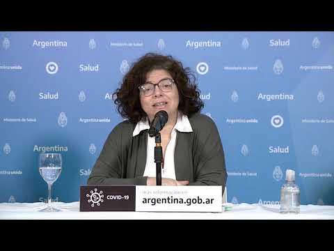 Informe habitual matutino del Ministerio de Salud 01/06/2020