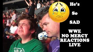 WWE No Mercy John Cena VS Roman Reigns Reaction!!!