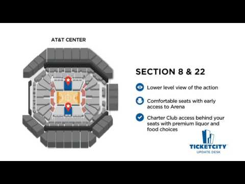AT&T Center Seat Recommendations - The TicketCity Update Desk