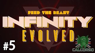 FTB Infinity Evolved - Episode 5 - Quest For Gold!