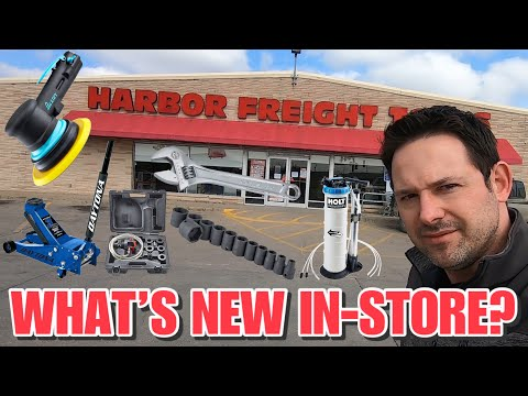 Harbor Freight What's New In-Stores Coming Soon Watch And Find Out!
