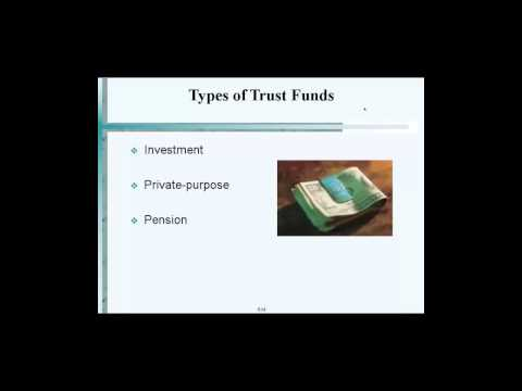 Types of Trust Funds