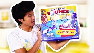 AMAZING TRICK SHOT CHAIN REACTION GAME!!!