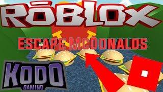 Entkomme McDonalds ROBLOX! - UNSER ERSTER OFFIZIELLER OBBY-LAUF!