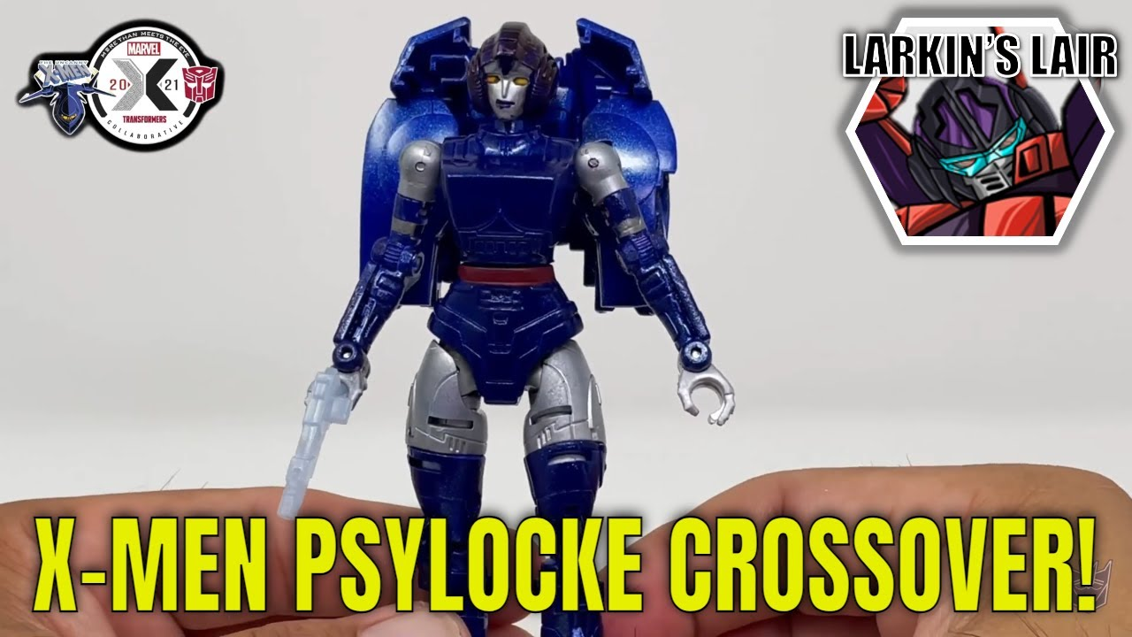 X-Men Mash-up Collaborative Pyslocke Custom by Larkin's Lair